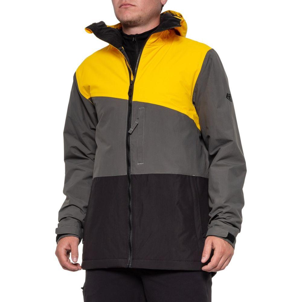 シックス エイト シックス 686 メンズ スキー・スノーボード ジャケット アウター【Prime Snowboard Jacket - Waterproof, Insulated】Granite