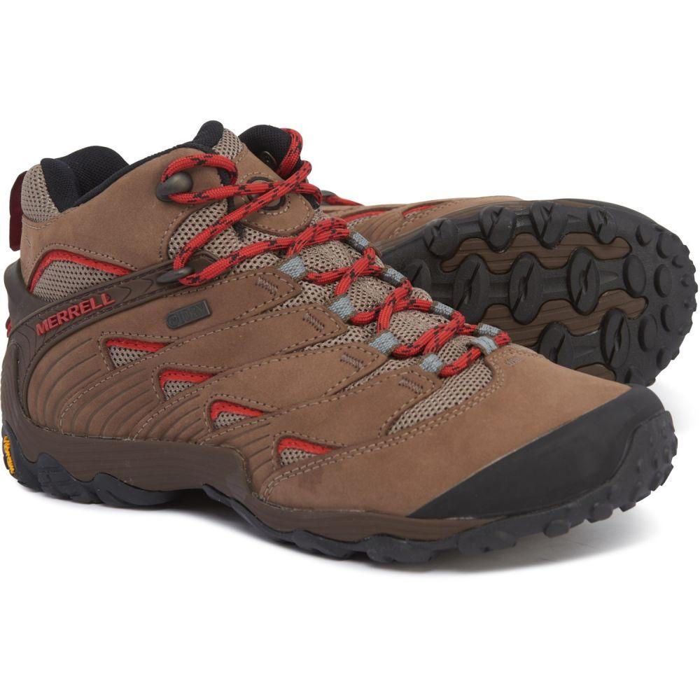 メレル Merrell メンズ ハイキング・登山 ブーツ シューズ・靴【Chameleon 7 Mid Hiking Boots - Waterproof】Boulder