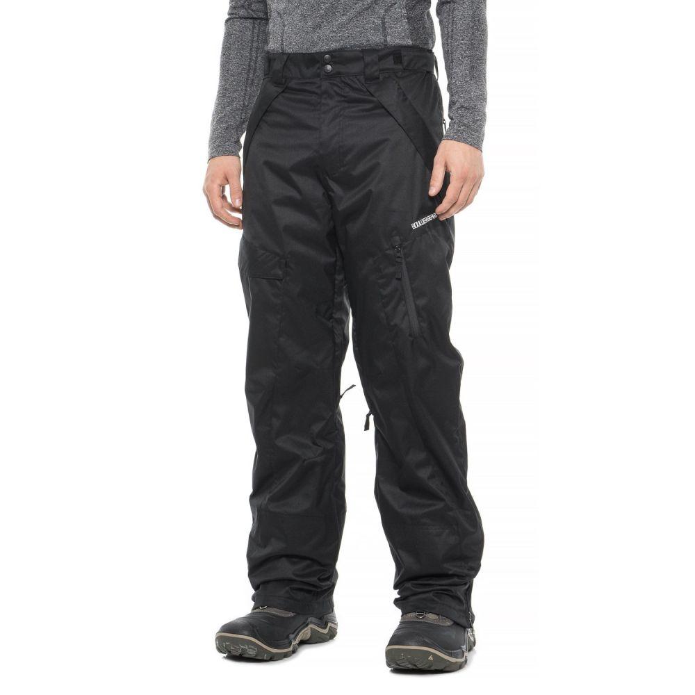 ボルダーギア Boulder Gear メンズ スキー・スノーボード カーゴ ボトムス・パンツ【Payload Cargo Ski Pants - Insulated】Black