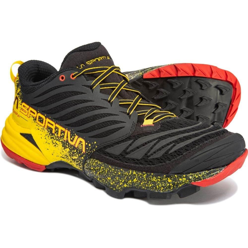 ラスポルティバ La Sportiva メンズ ランニング・ウォーキング シューズ・靴【Akasha Trail Running Shoes】Black/Yellow