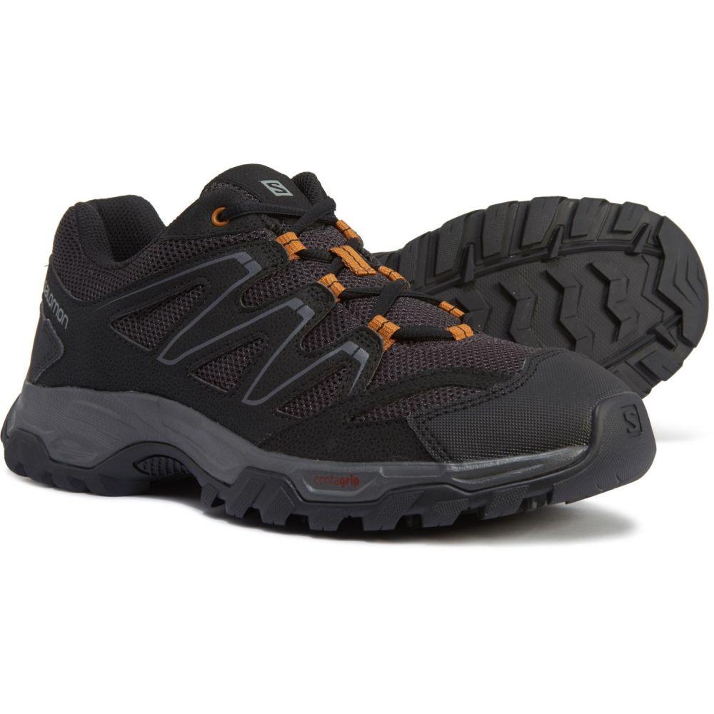 サロモン Salomon メンズ ハイキング・登山 シューズ・靴【Halifax Hiking Shoes】Phantom/Black/Cathay Spice