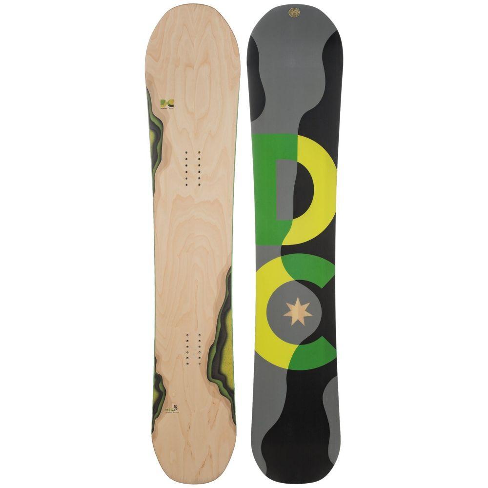ディーシー DC Shoes ユニセックス スキー・スノーボード ボード・板【Mega Snowboard】Woodgrain W/Neon Green/Yellow/Black/Grey Logo