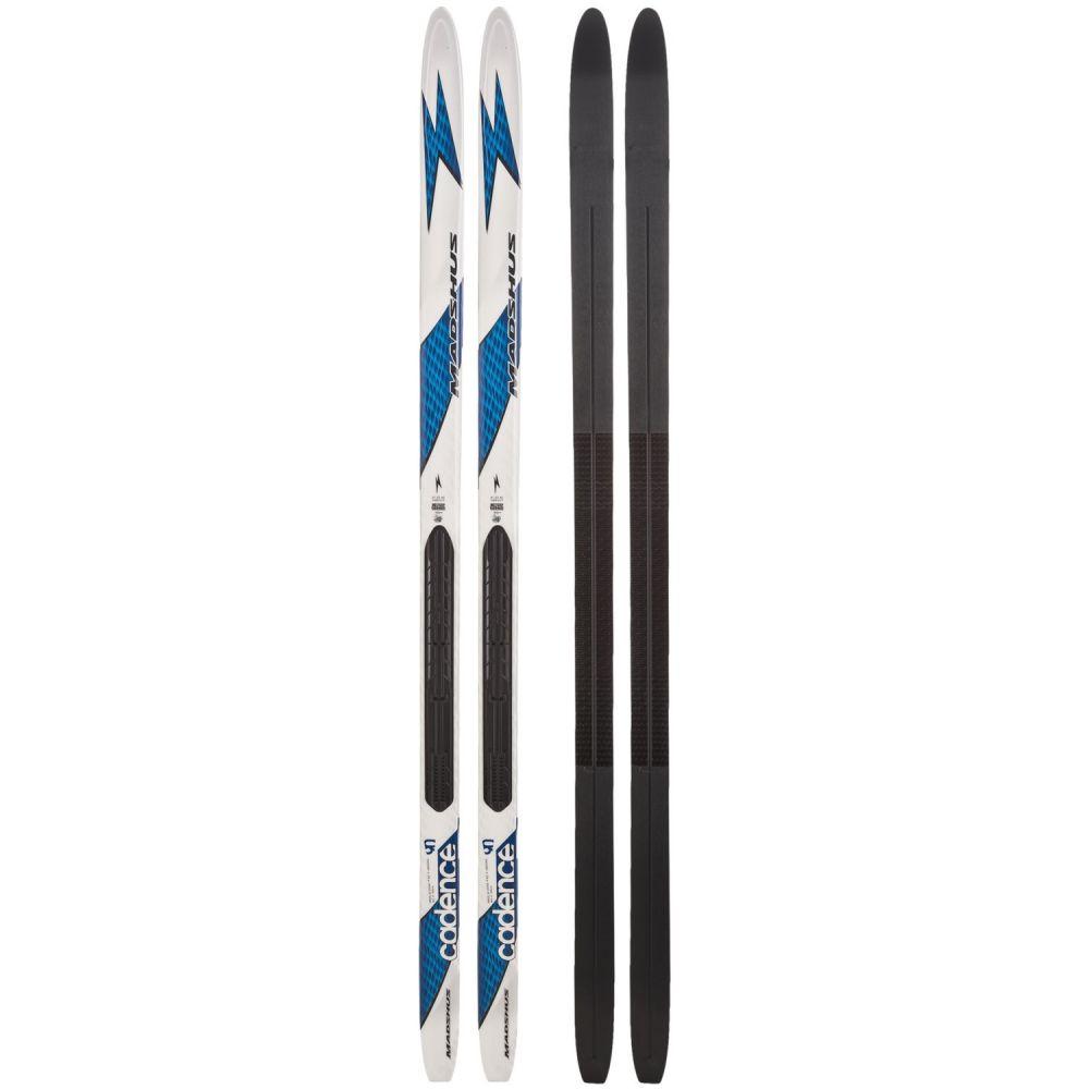 マズシャス Madshus ユニセックス スキー・スノーボード ボード・板【Cadence 90 Cross-Country Touring Skis】White/Blue