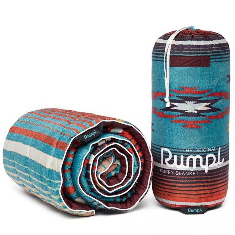 ルンプル RUMPL ユニセックス ハイキング・登山 ブランケット【The Original Puffy Throw Blanket - 50x70】Nipomo Print