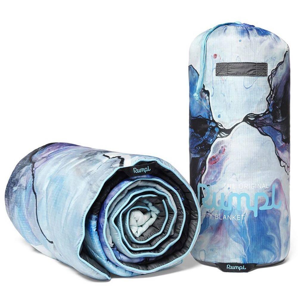 ルンプル RUMPL ユニセックス ハイキング・登山 ブランケット【The Original Puffy Throw Blanket - 50x70】Messy Marble