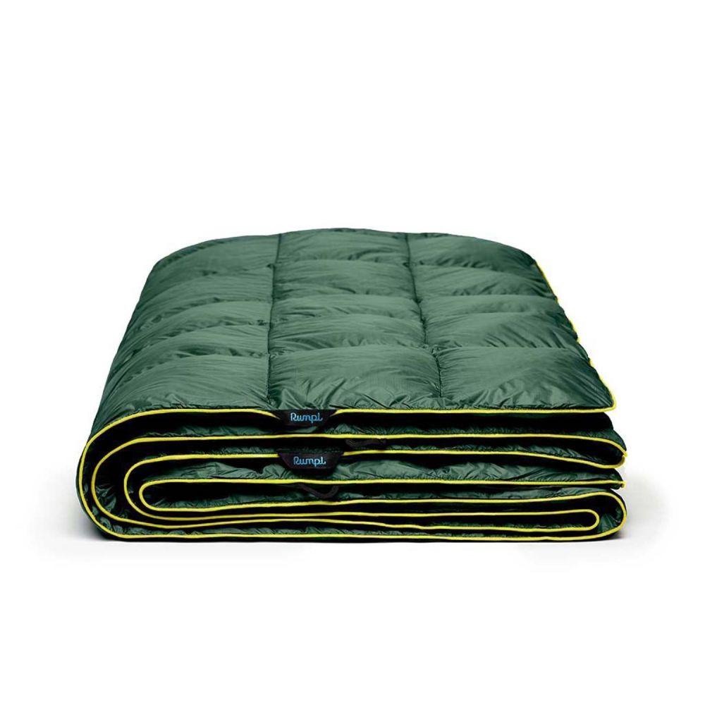 ルンプル RUMPL ユニセックス ハイキング・登山 ブランケット【The Down Puffy Throw Blanket - 88x84, 2-Person】Forest Green/Moss