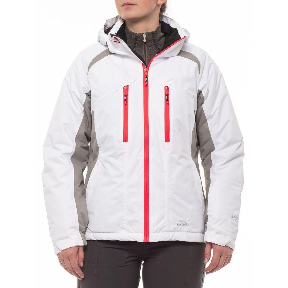 トレスパス Trespass レディース スキー・スノーボード ジャケット アウター【Adelena TP 50 Ski Jacket】White