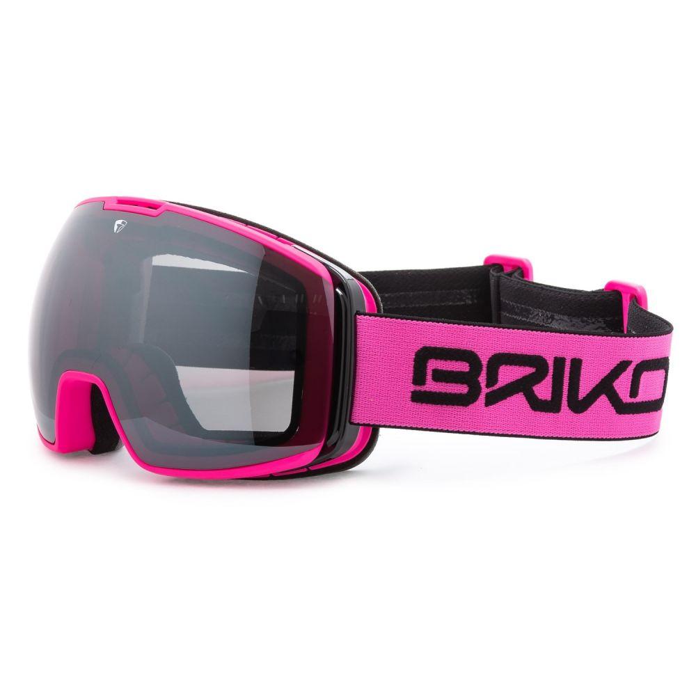ブリコ Briko レディース スキー・スノーボード ゴーグル【Nyira Free Fighter 7.6 Ski Goggles -】Matte Pink/Black Sm