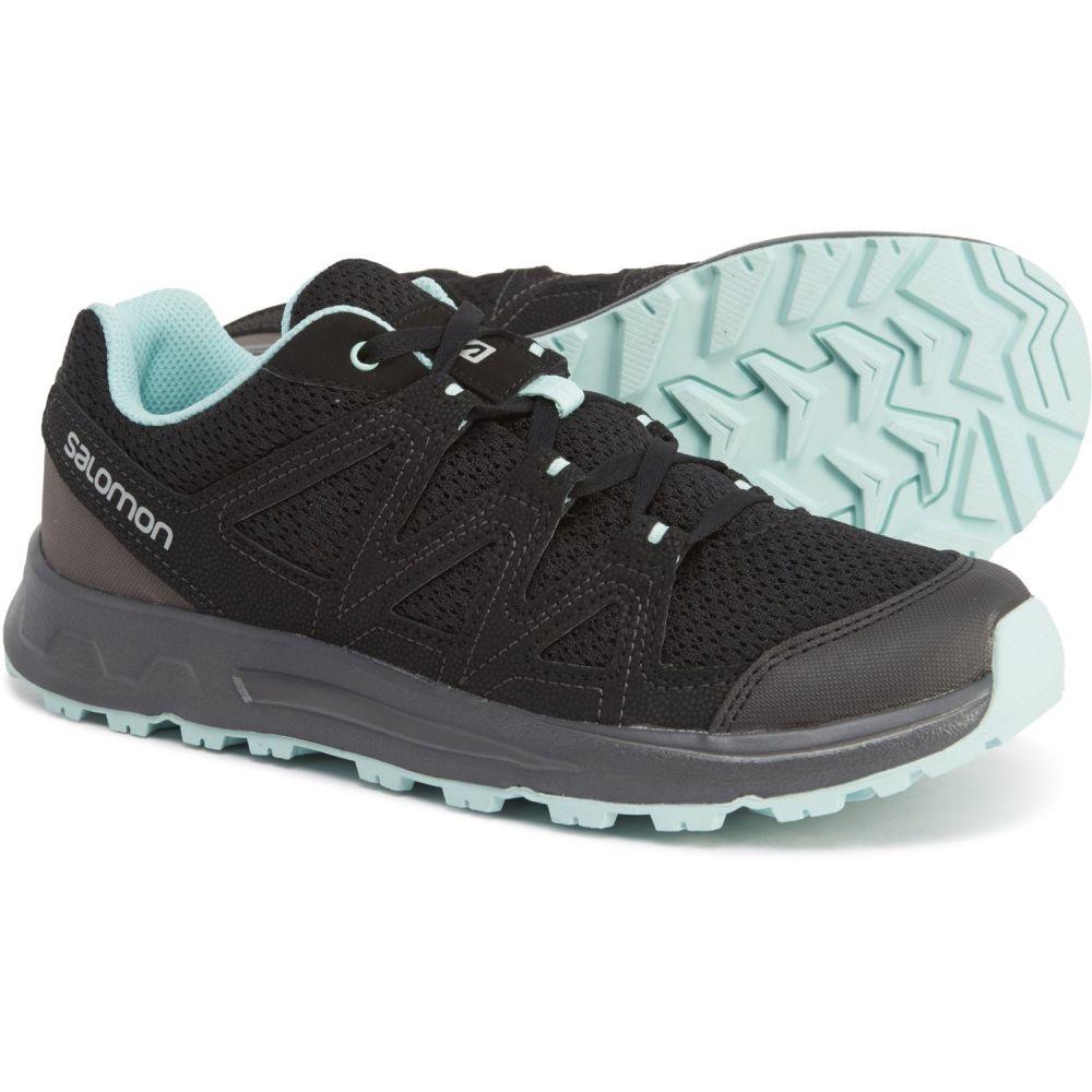 サロモン Salomon レディース ハイキング・登山 シューズ・靴【Blackstonia Hiking Shoes】Black/Black/Icy Morn