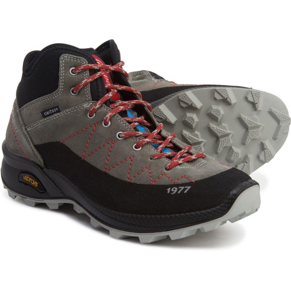 グリスポーツ Grisport レディース ハイキング・登山 ブーツ シューズ・靴【Made in Europe Vesuvio Hiking Boots - Waterproof】Grey/Red/Black