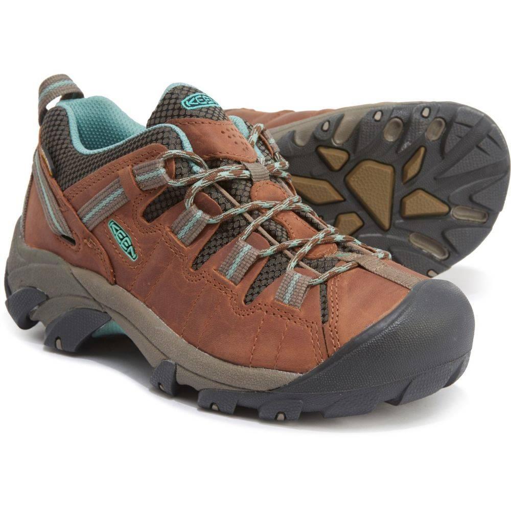 キーン Keen レディース ハイキング・登山 シューズ・靴【Targhee II Hiking Shoes - Waterproof】Dark Earth/Wasabi