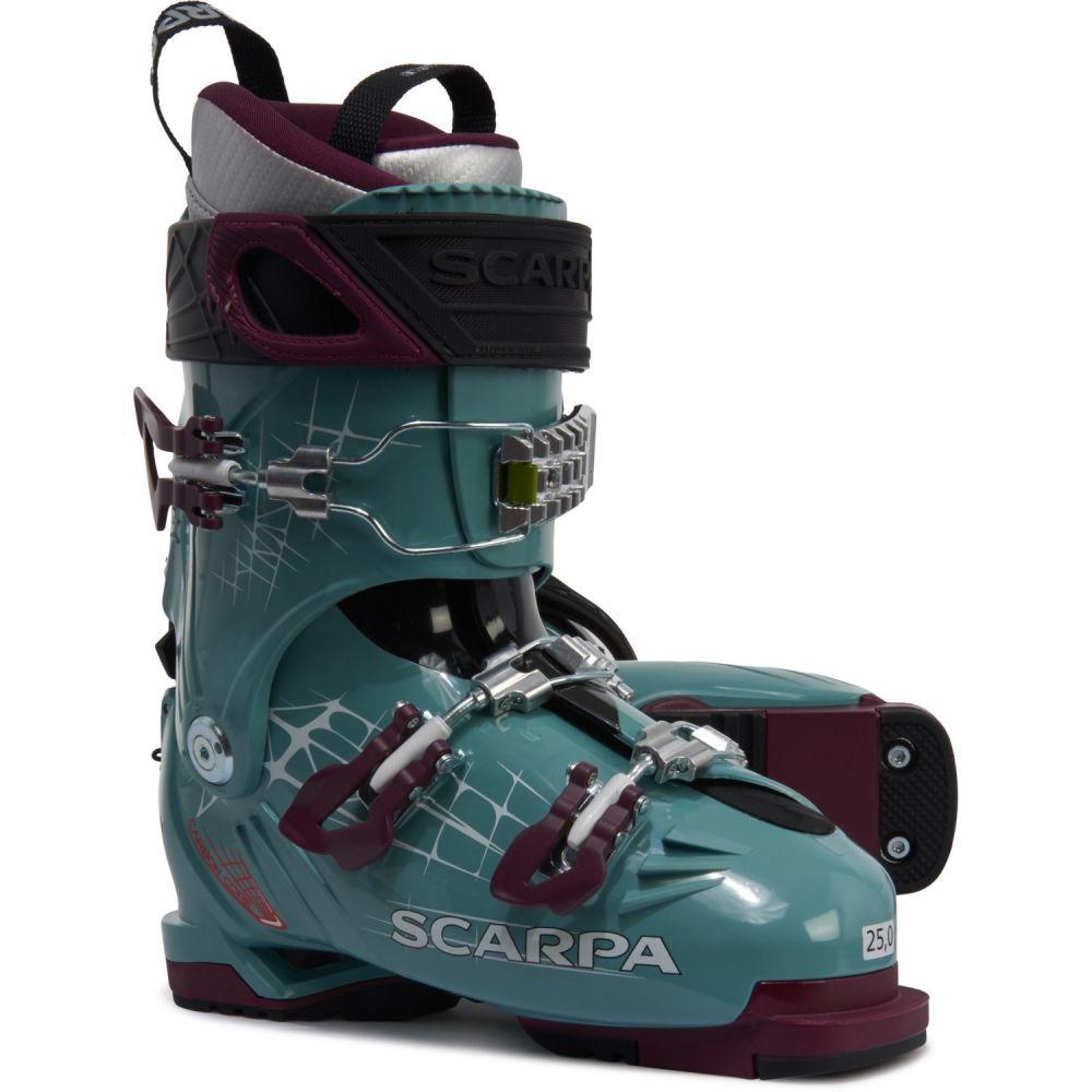 スカルパ Scarpa レディース スキー・スノーボード ブーツ シューズ・靴【Made In Italy Freedom Alpine Touring Ski Boots】Mineral Blue/Purple
