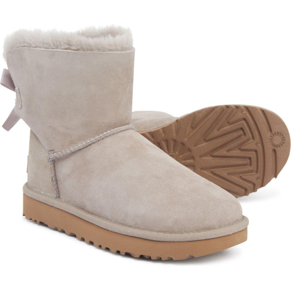 アグ UGG Australia レディース ブーツ シューズ・靴【Mini Bailey Bow II Boots - Suede】Oyster