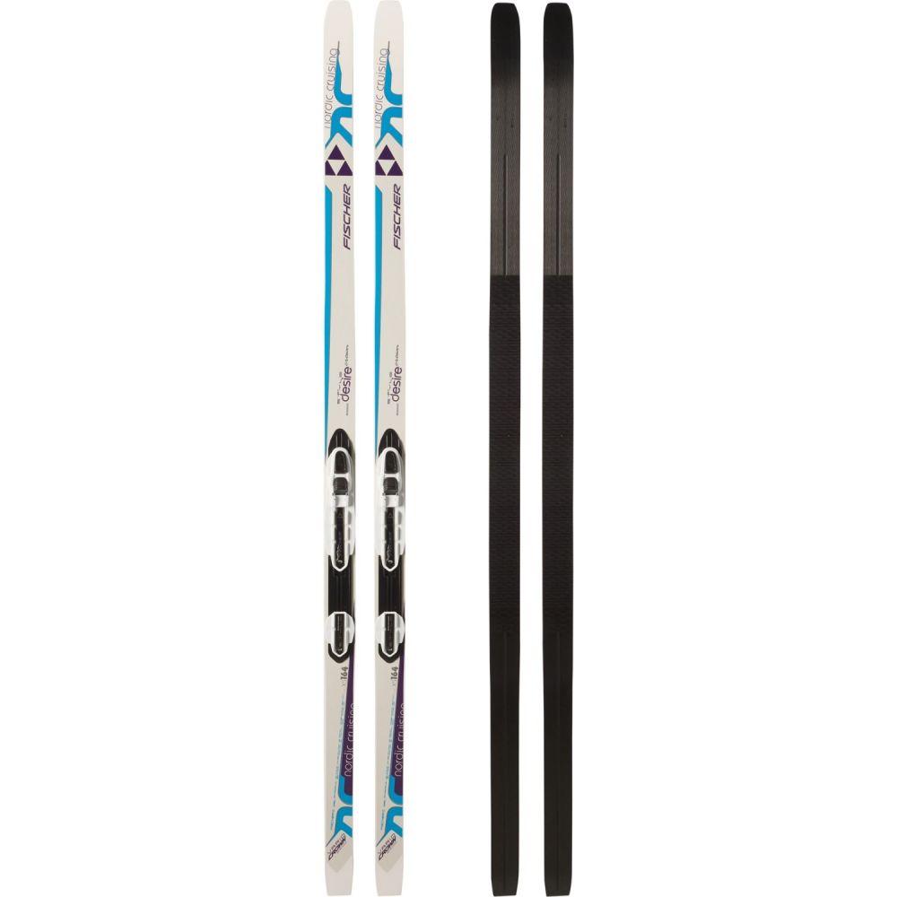 フィッシャー Fischer レディース スキー・スノーボード ビンディング【Desire My Style Nordic Skis with NIS Bindings】White