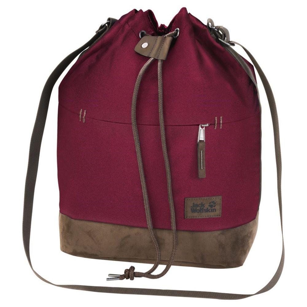 ジャックウルフスキン Jack Wolfskin ユニセックス ボディバッグ・ウエストポーチ バッグ【Sandia Shoulder Bag】Garnet Red