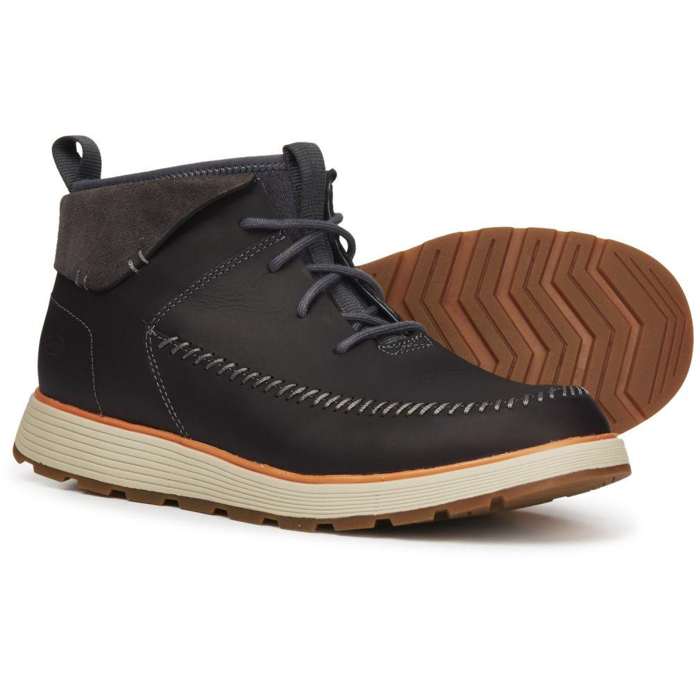 チャコ Chaco メンズ ブーツ モックトゥ シューズ・靴【Dixon Mid Moc Toe Boots - Leather】Denim