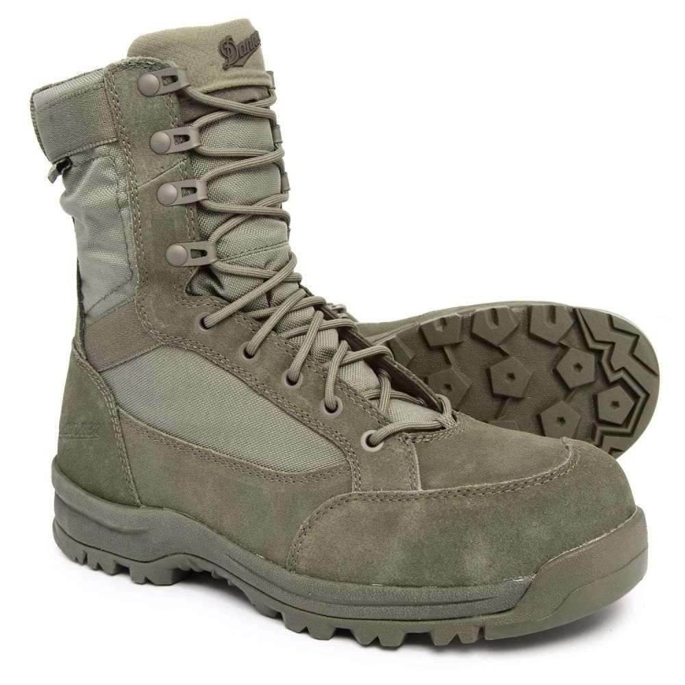 ダナー Danner メンズ ブーツ ワークブーツ シューズ・靴【8 Tanicus Military Work Boots - Composite Safety Toe, Waterproof】Sage