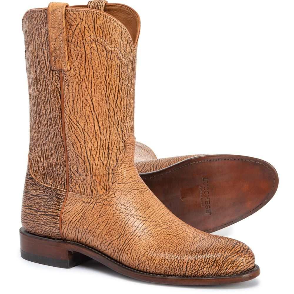 ルケーシー Lucchese メンズ ブーツ カウボーイブーツ シューズ・靴【Vernon Limited Edition Cowboy Boots - 11, Round Toe】Tan
