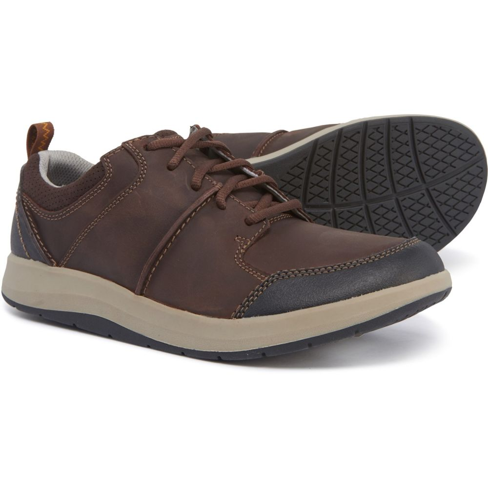 クラークス Clarks メンズ シューズ・靴 【Shoda Stride Shoes - Leather】Brown
