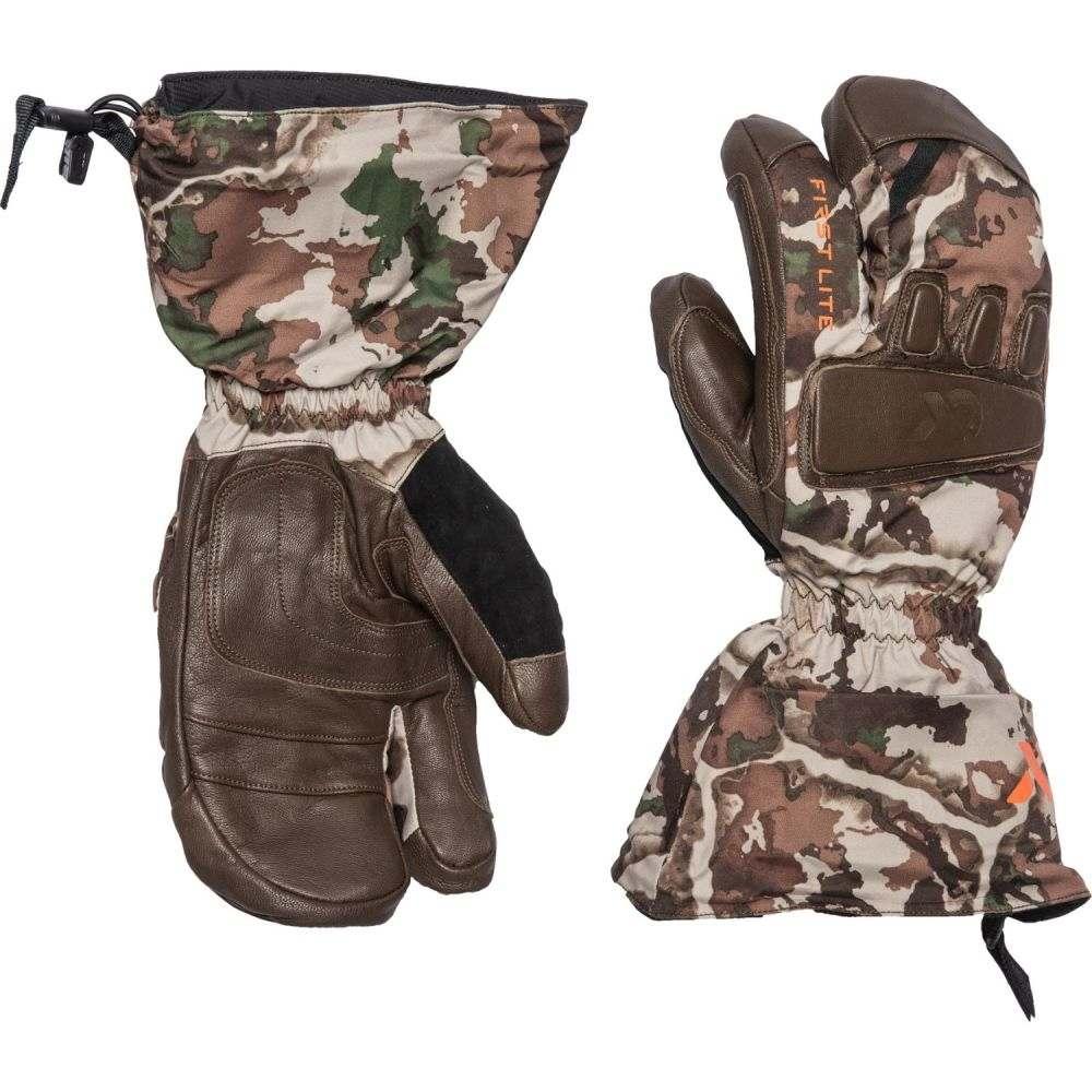ファーストライト メンズ ファッション小物 手袋・グローブ Fusion 【サイズ交換無料】 ファーストライト First Lite メンズ 手袋・グローブ 【Grizzly Cold-Weather Gloves】Fusion