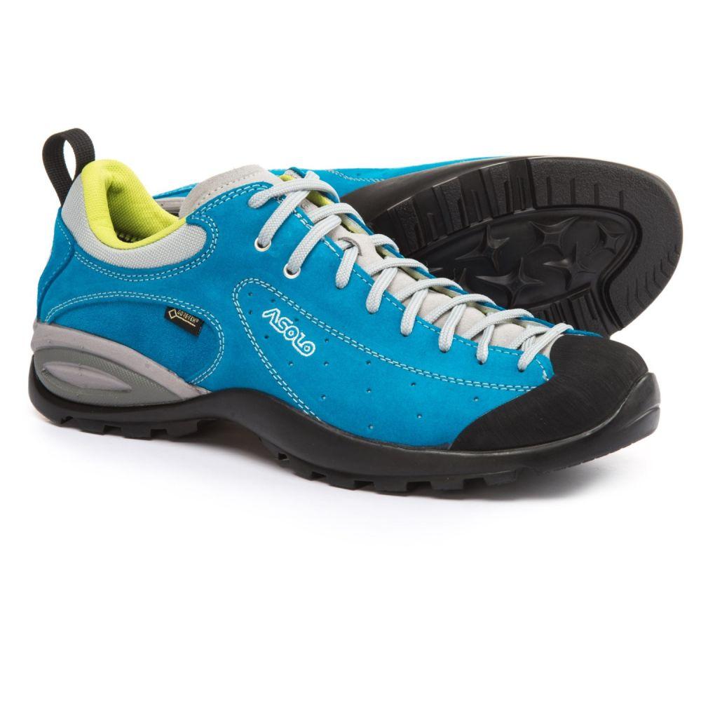 アゾロ Asolo メンズ ハイキング・登山 シューズ・靴【Shiver GV Gore-Tex Hiking Shoes - Waterproof, Suede】Blue Aster
