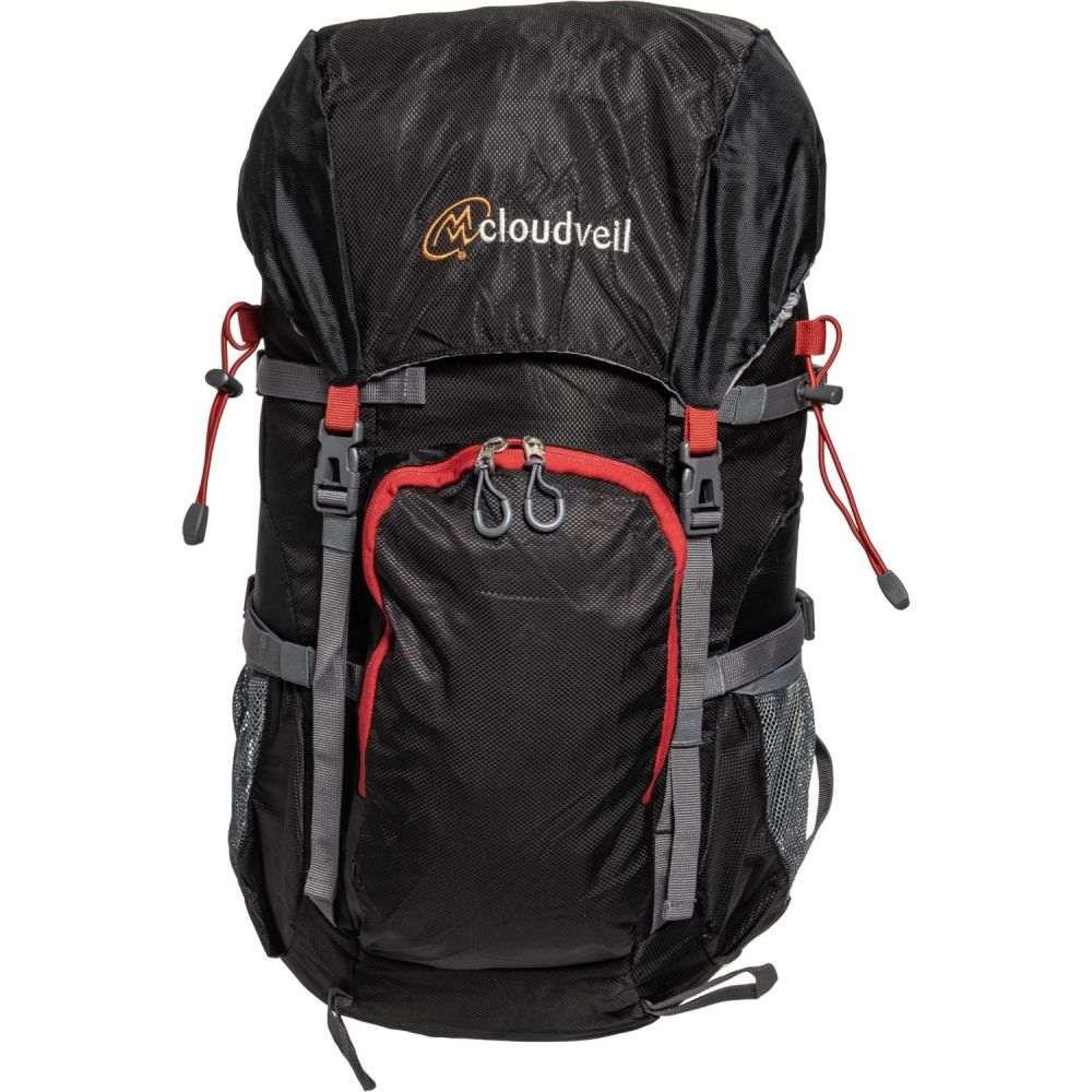 クラウドベイル Cloudveil ユニセックス バックパック・リュック バッグ【35L Backpack】Black/Red