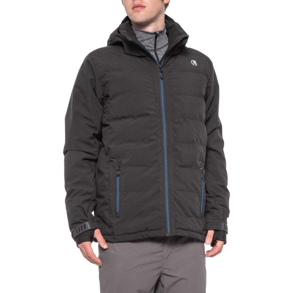 リクイド メンズ スキー・スノーボード アウター Black 【サイズ交換無料】 リクイド Liquid メンズ スキー・スノーボード ジャケット アウター【North Ski Jacket - Waterproof, Insulated】Black