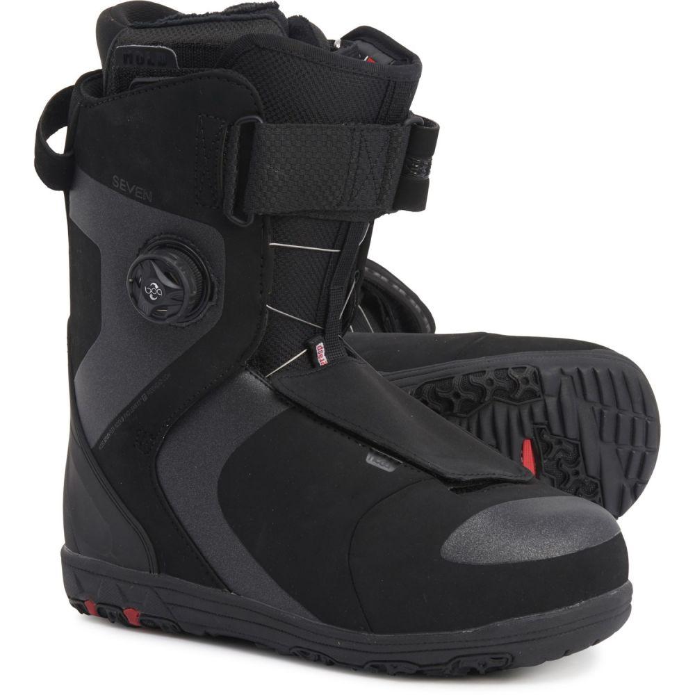 ヘッド メンズ スキー・スノーボード シューズ・靴 Black 【サイズ交換無料】 ヘッド Head メンズ スキー・スノーボード ブーツ シューズ・靴【Seven BOA Snowboard Boots】Black