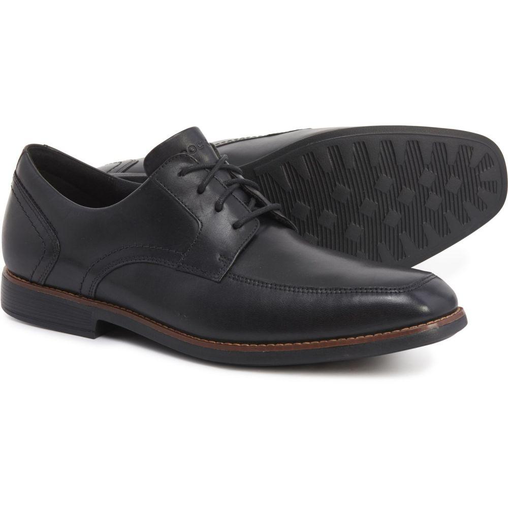 ロックポート Rockport メンズ 革靴・ビジネスシューズ シューズ・靴【Wighton Apron Toe Oxford Shoes - Leather】Black