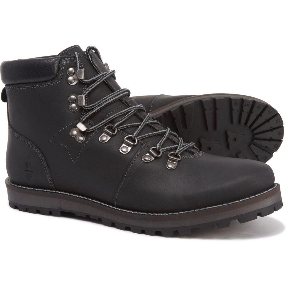 リザーブド RESERVED メンズ ブーツ シューズ・靴【Fashion Leather Boots】Black