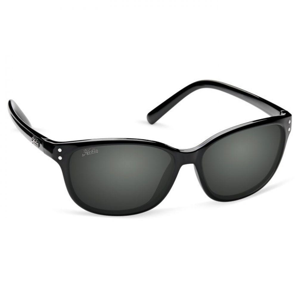 ホビー Hobie レディース メガネ・サングラス 【Balboa Sunglasses - Polarized】Shiny Black/Grey
