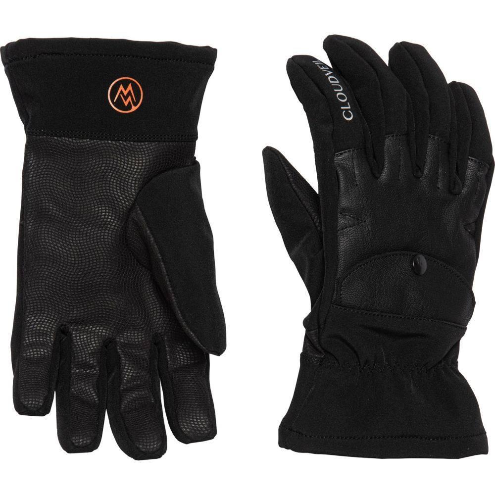 クラウドベイル Cloudveil メンズ スキー・スノーボード グローブ【Riverton Soft Shell Ski Gloves】黒