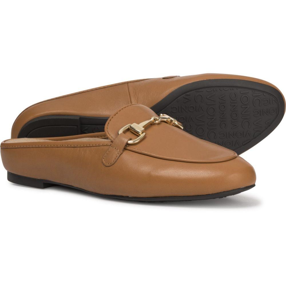 バイオニック Vionic レディース サンダル・ミュール シューズ・靴【Orthaheel Technology Adeline Mule Shoes】Caramel