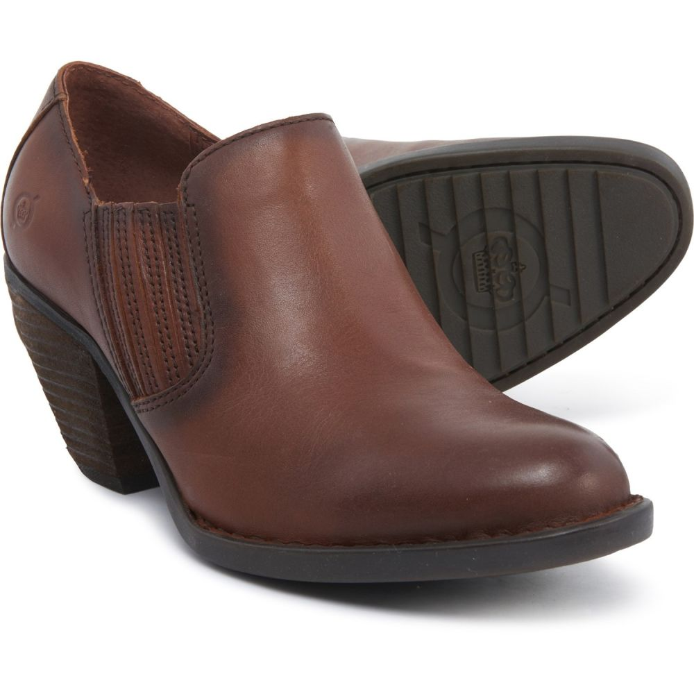 ボーン Born レディース ブーツ ショートブーツ ウェスタンブーツ シューズ・靴【Fredrika Western Ankle Boots - Suede】British Tan