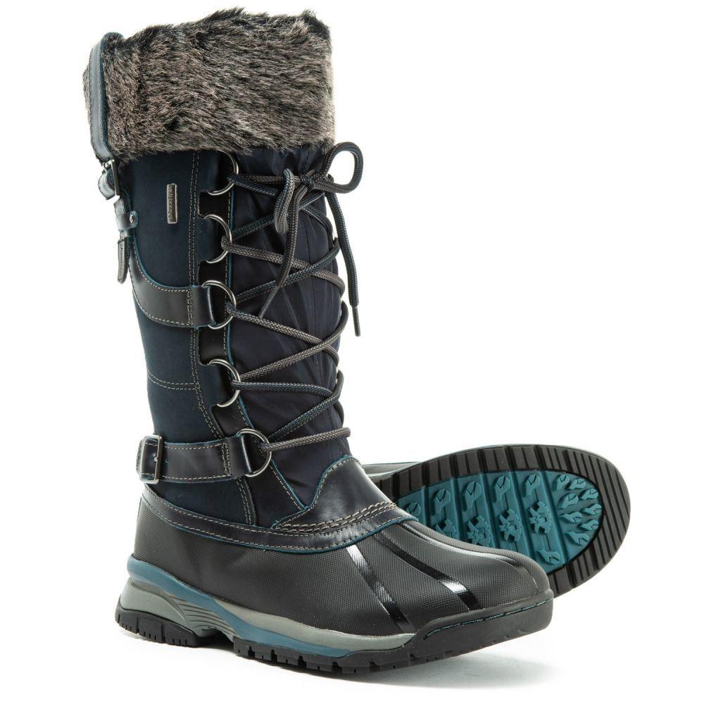ジャンブー Jambu レディース ブーツ シューズ・靴【Wisconsin Tall Pac Boots - Waterproof, Insulated】Midnight