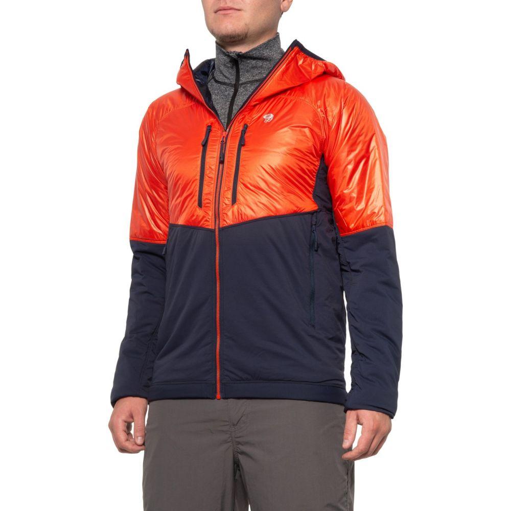 マウンテンハードウェア Mountain Hardwear メンズ ジャケット アウター【Kor Strata PrimaLoft Alpine Jacket - Insulated】Fiery Red