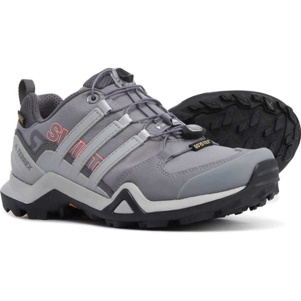アディダス adidas outdoor レディース ハイキング・登山 シューズ・靴【Terrex Swift R2 Gore-Tex Hiking Shoes - Waterproof】Grey Three/Grey Two/Chalk Coral