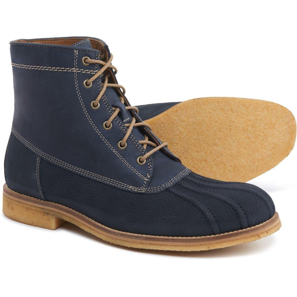 ジョンストン&マーフィー Johnston & Murphy メンズ ブーツ シューズ・靴【Howell Duck Boots - Leather】Navy
