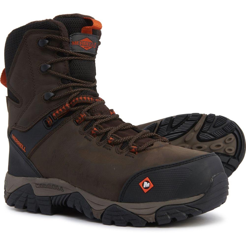 メレル Merrell メンズ ブーツ ワークブーツ シューズ・靴【Phaserbound Thermo Work Boots - Waterproof, Insulated, Composite Safety Toe】Espresso