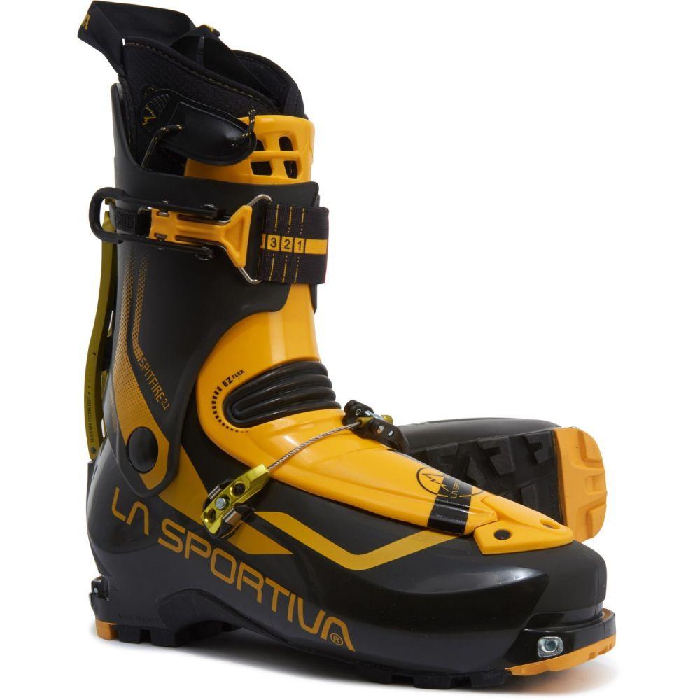 ラスポルティバ La Sportiva メンズ スキー・スノーボード ブーツ シューズ・靴【Made in Italy Spitfire 2.1 Ski-Mountaineering Boots】Black/Yellow