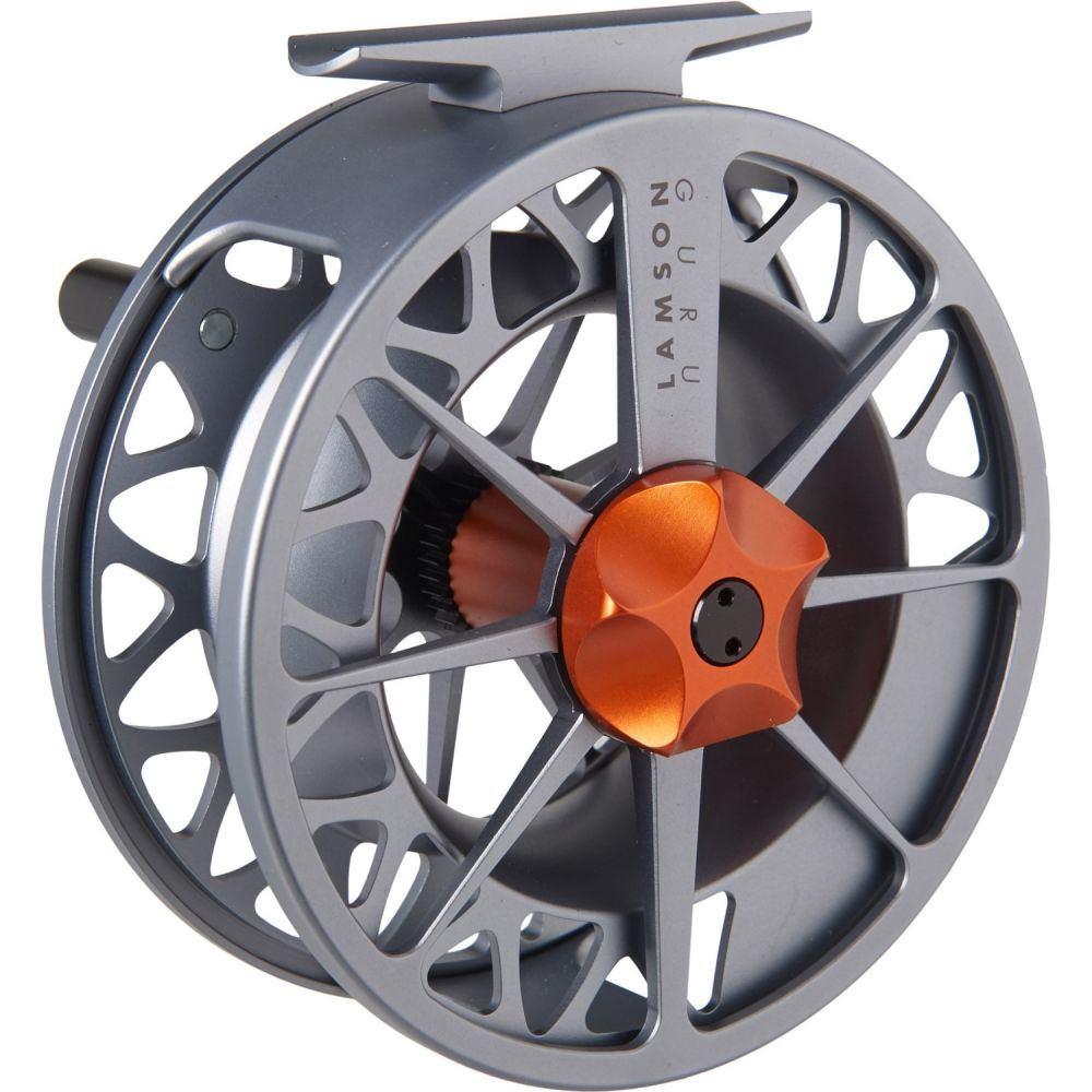 ラムソン Lamson ユニセックス 釣り・フィッシング リール【Guru 3.5 Series II Fly Reel - 8-9wt】Grey/Orange