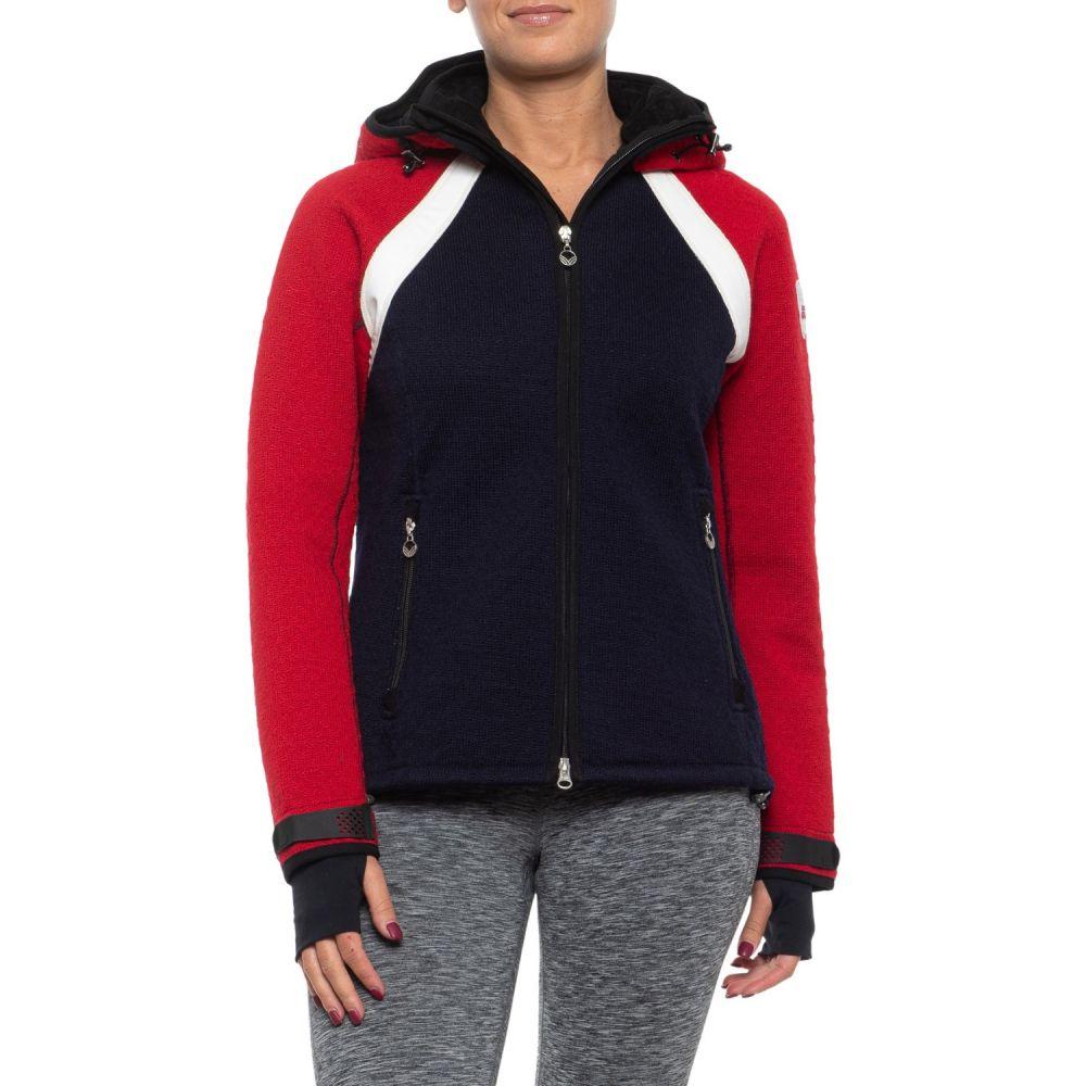 ダーレ オブ ノルウェイ Dale of Norway レディース ジャケット アウター【Jotunheimen Jacket - Wool Blend】Navy/Red/Off White