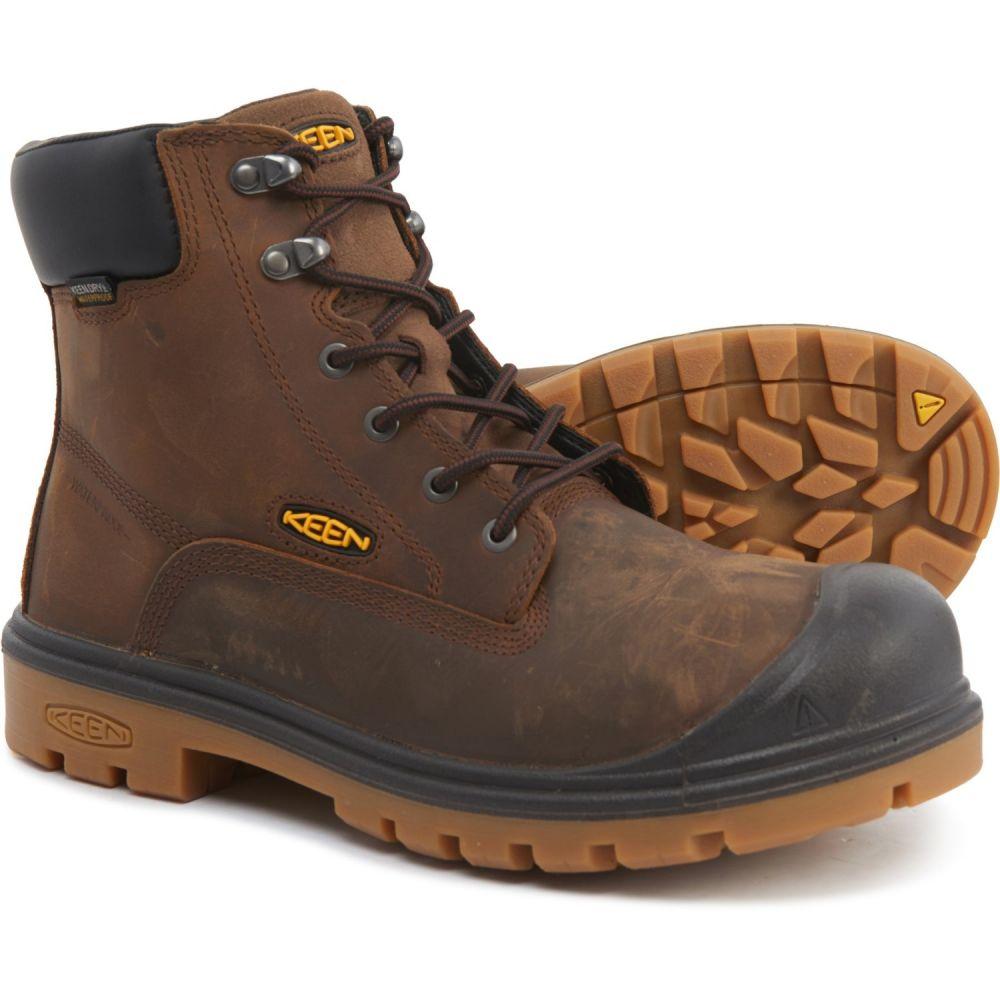 キーン Keen メンズ ブーツ シューズ・靴【Baltimore Soft-Toe Boots - Waterproof, Nubuck】Cascade Brown