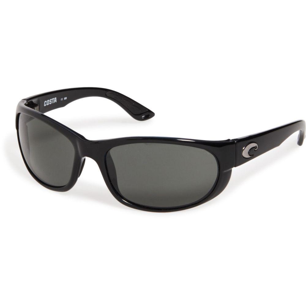 コスタ Costa メンズ メガネ・サングラス 【Howler Sunglasses - Polarized 580G Lenses】Black/Gray