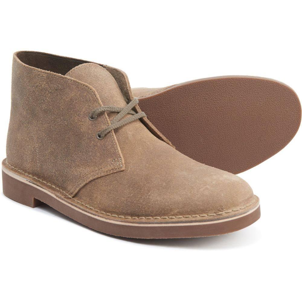 クラークス Clarks メンズ ブーツ シューズ・靴【Bushacre 2 Desert Boots - Suede】Taupe Distressed