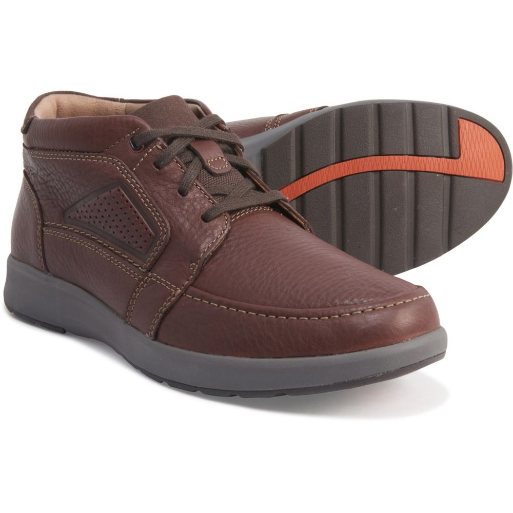 クラークス CLARKS UNSTRUCTURED メンズ ブーツ チャッカブーツ シューズ・靴【Mahogany Un Trail Limit Chukka Boots】Mahogany Leather