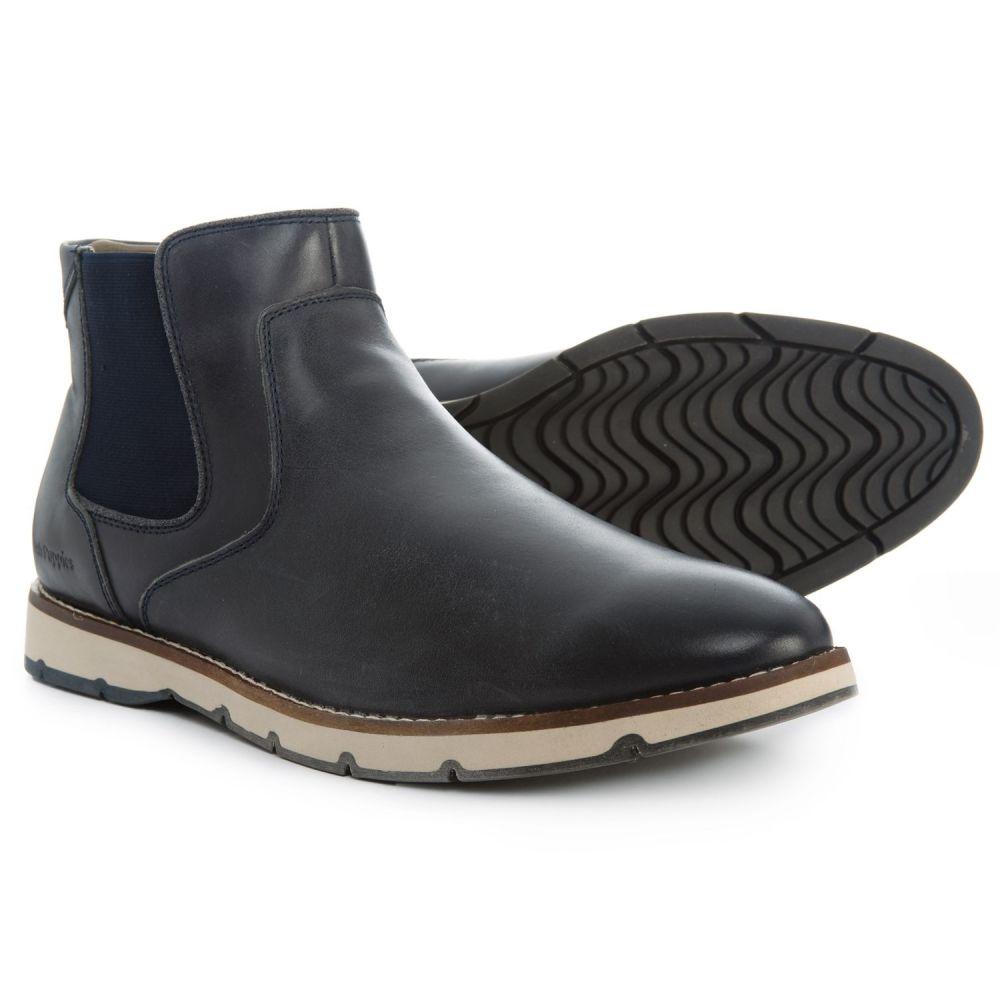 ハッシュパピー Hush Puppies メンズ ブーツ チェルシーブーツ シューズ・靴【Burwell Hayes Chelsea Boots - Leather】Navy