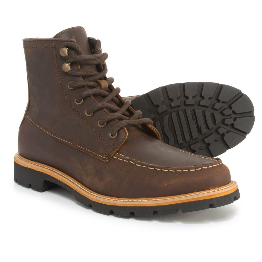ドクター ショール Dr. Scholls メンズ ブーツ モックトゥ シューズ・靴【Moc-Toe Boots - Leather】Brown