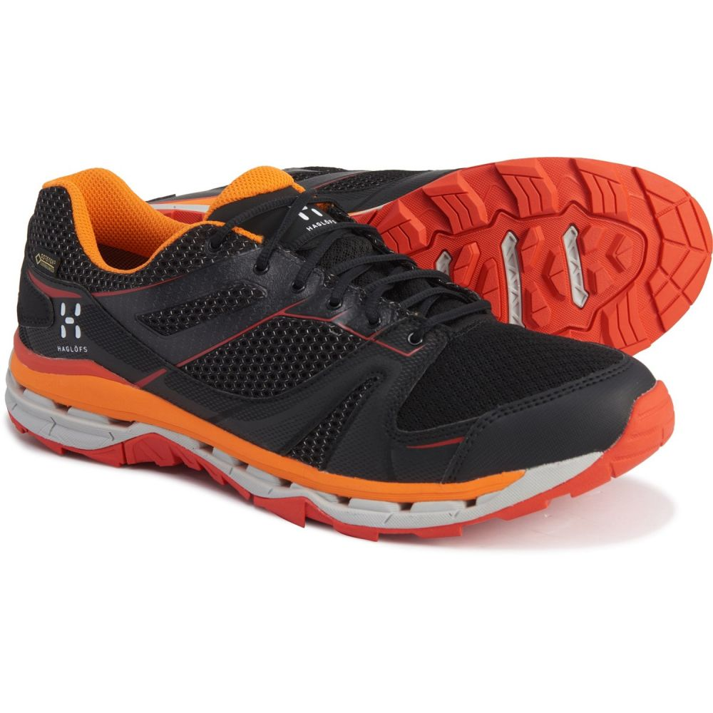 ホグロフス Haglofs メンズ ハイキング・登山 シューズ・靴【Observe Gore-Tex Surround Hiking Shoes - Waterproof】True Black/Habanero