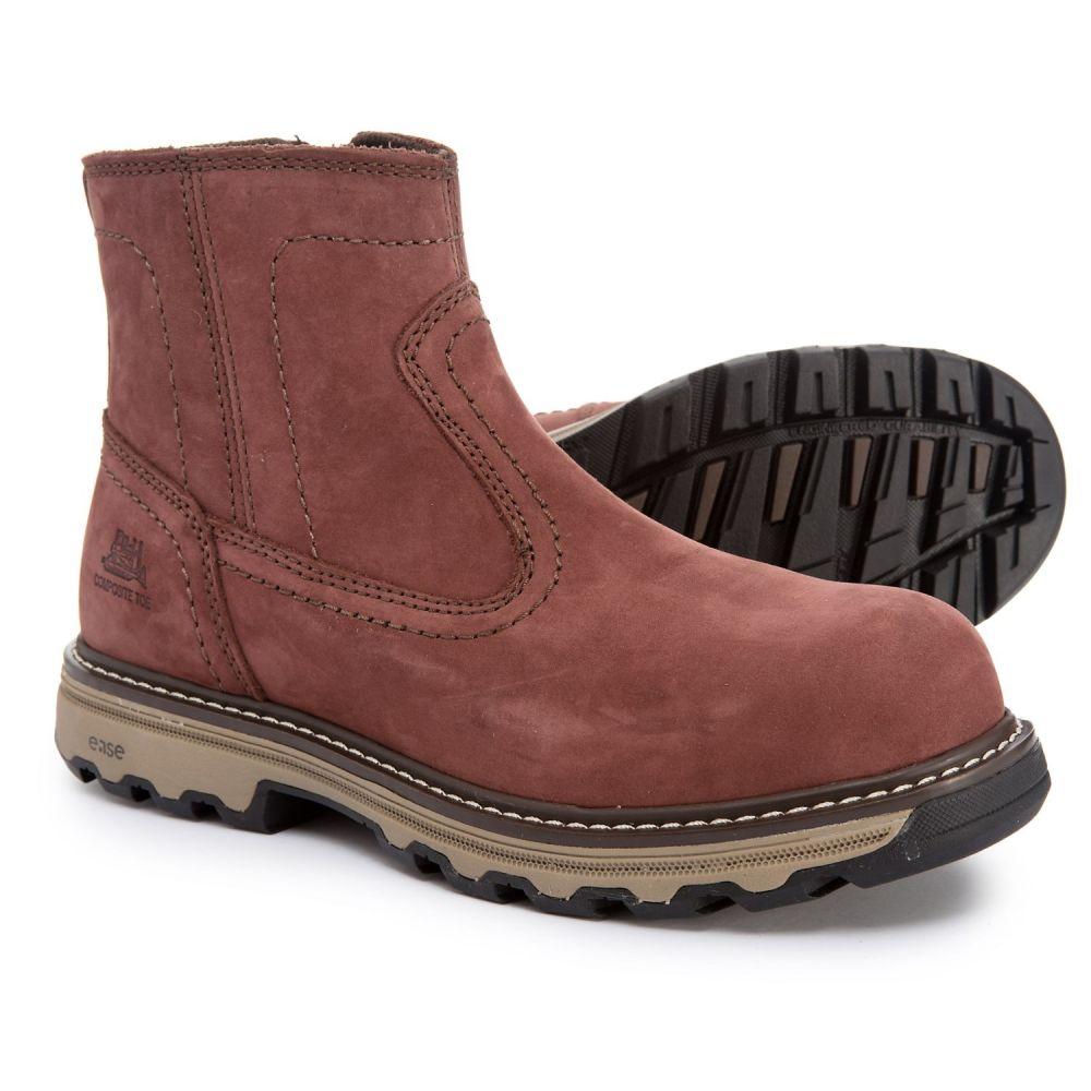 キャピタラー カジュアル Caterpillar レディース ブーツ ワークブーツ シューズ・靴【Fragment Work Boots - Composite Safety Toe, Leather】Sable